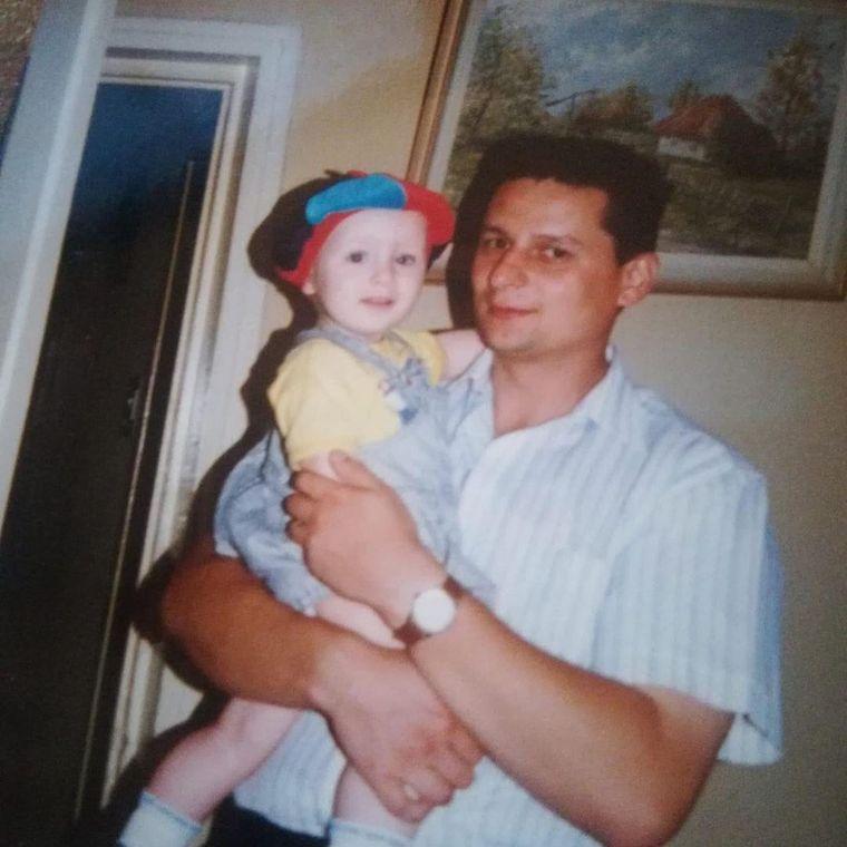 Radu Țibulcă și tatăl său