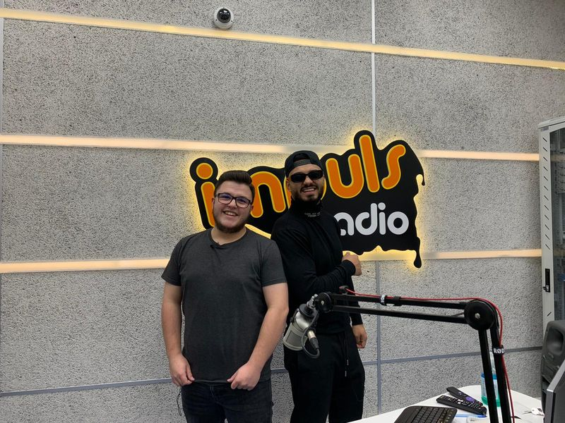 Jador și Mihai Hînda la Radio Impuls