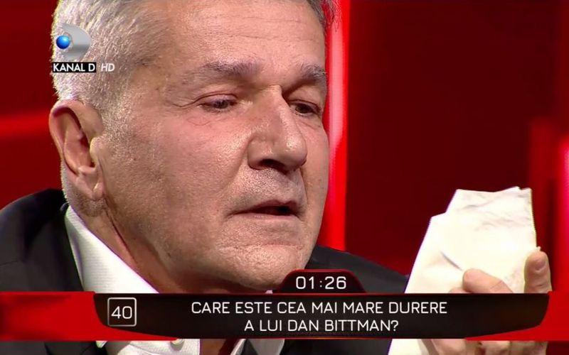 Dan Bittman plânge