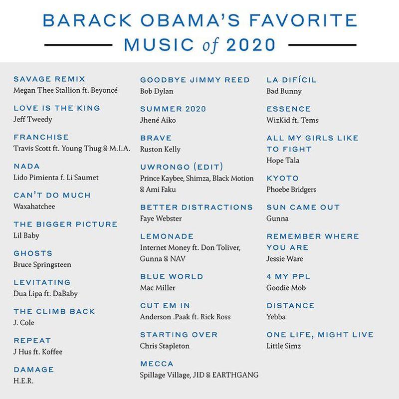 Barack Obama - cărți preferate 2020