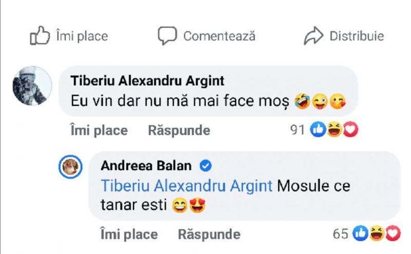Andreea Bălan și Tiberiu Argint
