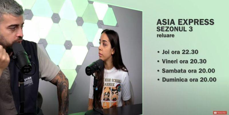 Asia Express revine pe tv
