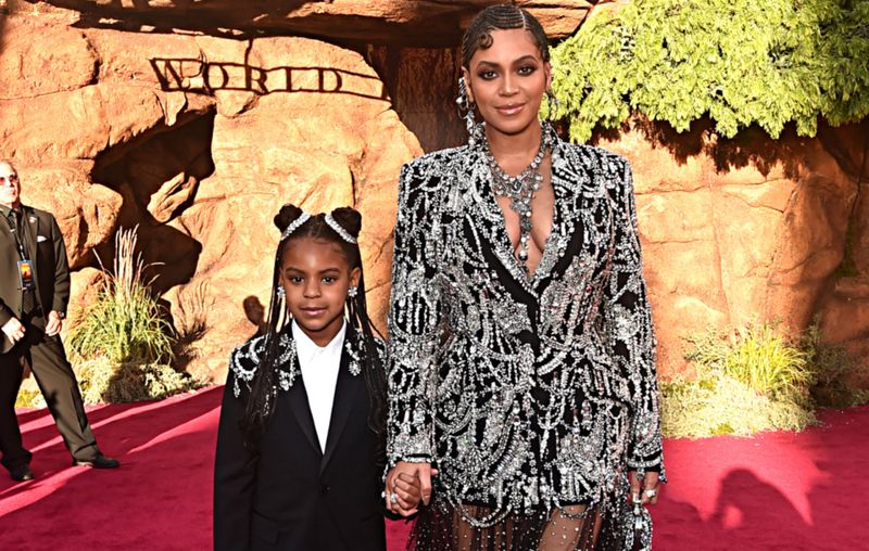 Blue Ivy, fiica lui Beyonce, show pe Instagram