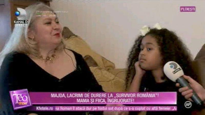 Majda și fiica ei