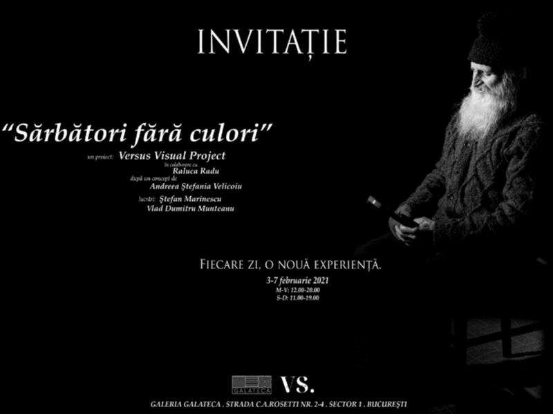 """""""Sărbători fără culori"""" – o invitație într-un periplu interior"""