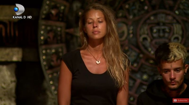 Roxana Nemeș nominalizată spre eliminare la Survivor