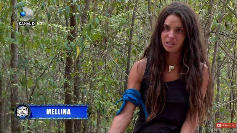 Mellina, pusă la zid de colegii ei Războinici