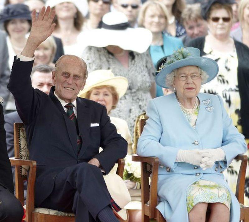 Prințul Philip și Regina Elisabeta