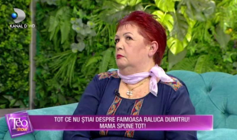 Ce spune mama Faimoasei Raluca Dumitru despre fiica sa