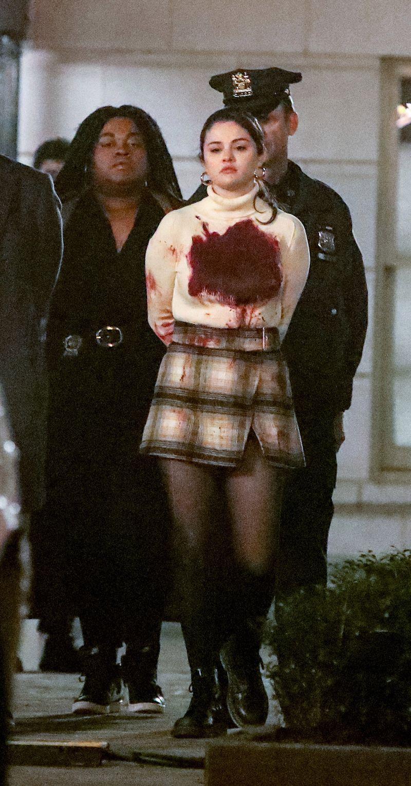 """Selena Gomez se afla pe platourile de filmare ale serialului """"Only Murders In The Building"""""""