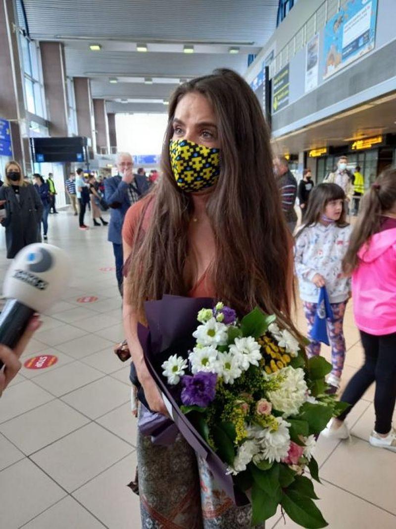Mellina și Cătălin Moroșanu au ajuns în România de la Survivor România!
