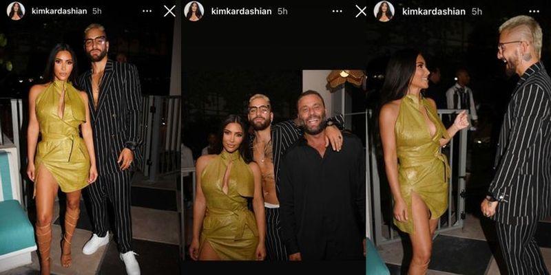 Kim Kardashian şi Maluma