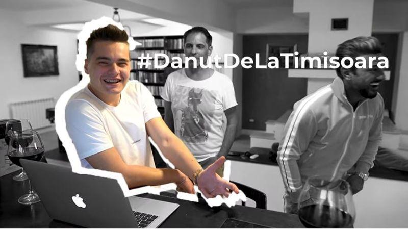 Dan Negru a intrat în lumea YouTube-ului