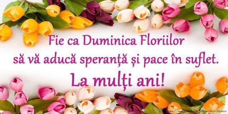Colaje FOTO cu mesaje de la mulți ani pentru toți cei care poartă nume de flori