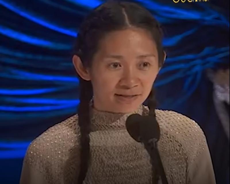 Chloe Zhao a câștigat trofeul pentru cel mai bun regizor