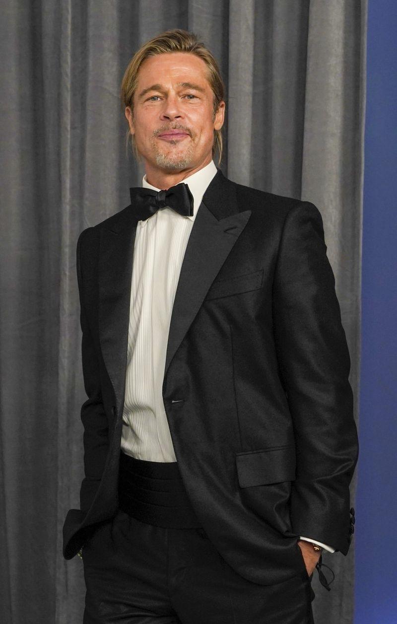 Brad Pitt, apariție impecabilă la Gala Premiilor Oscar 2021