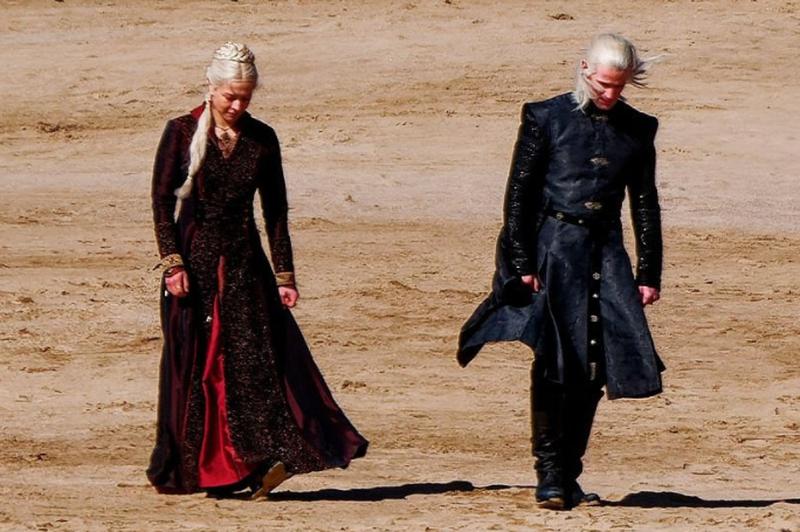 """Primele imagini din serialul """"Game of Thrones"""""""