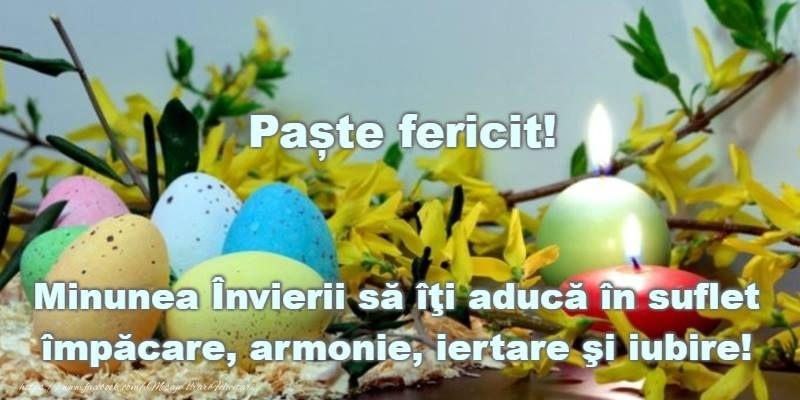 """Cele mai frumoase mesaje și felicitări în imagini de Paște """"Hristos a Înviat!"""""""