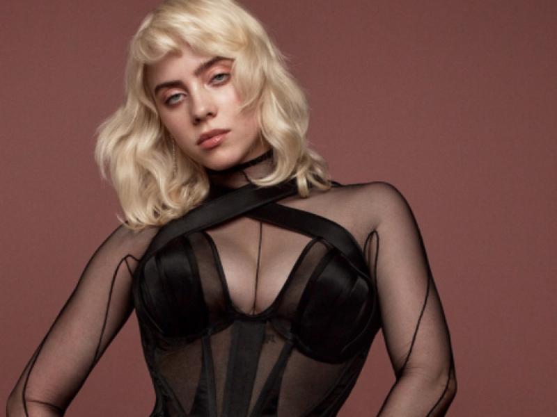 Billie Eilish a renunțat la hainele largi și a pozat super-sexy! Cum a arătat artista în cel mai nou pictorial