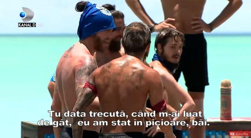 """Tensiuni între Sebi și Abert de la Survivor România: """" Îmi bagi mâna în gât?"""""""