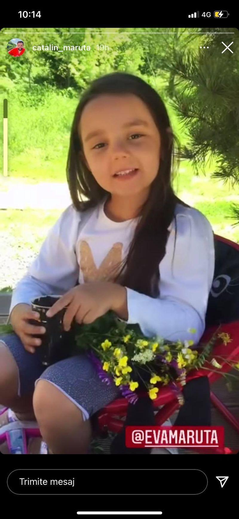 """Eva Măruță, mesaj adorabil pentru tatăl său după ce l-a supărat: """"Promit..."""""""