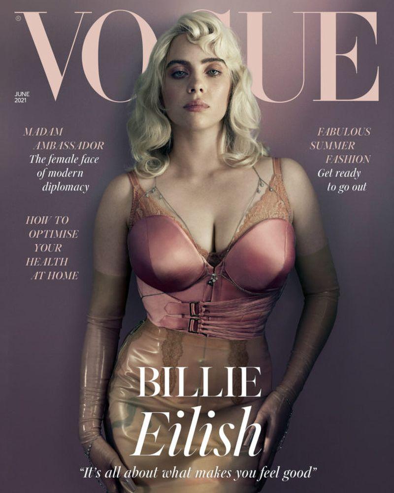 """Billie Eilish spune că reacția la coperta Vogue din Marea Britanie a făcut-o """"să nu mai vrea să mai posteze din nou"""""""