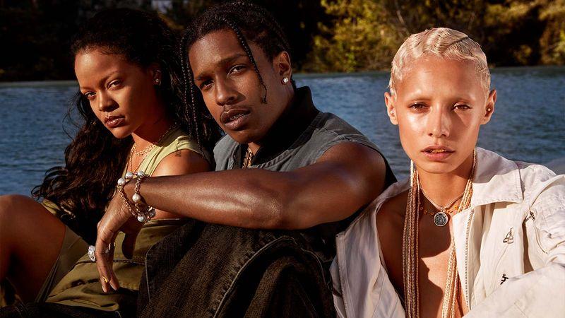 """A$AP Rocky și-a confirmat relația cu Rihanna: """"Ea este aleasa"""""""