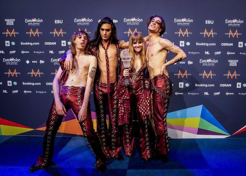 Italia, reprezentantă de trupa Maneskin, este marea câștigătoare a concursului Eurovision 2021