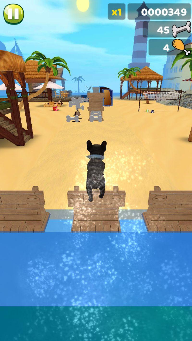 Dorian Popa și câinele lui, Cheluțu, protagoniștii unui joc video