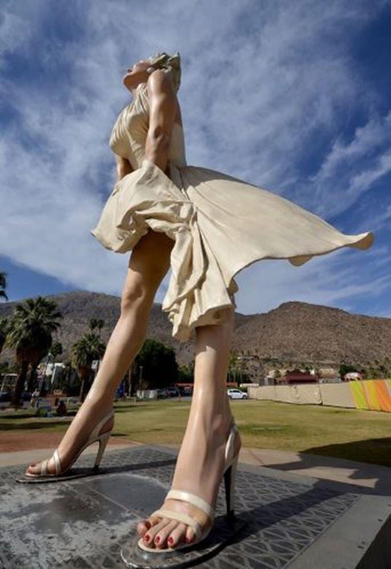 """Statuia actriței Marilyn Monroe, contestată în Palm Springs: """"Este un lucru atât de lipsit de respect"""""""