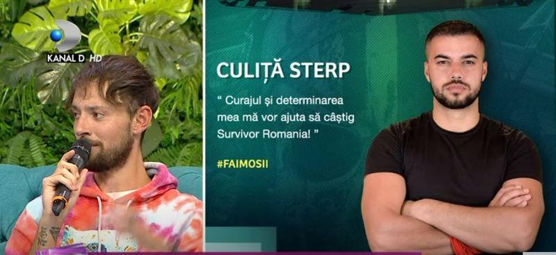 """Cucu şi-a caracaterizat colegii de la Survivor România. Ce a spus despre Sebi Chitoșcă: """"Cu două fețe"""""""