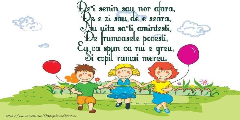 Urări și felicitări de Ziua Copilului. Mesaje virtuale de la mulți ani de 1 iunie