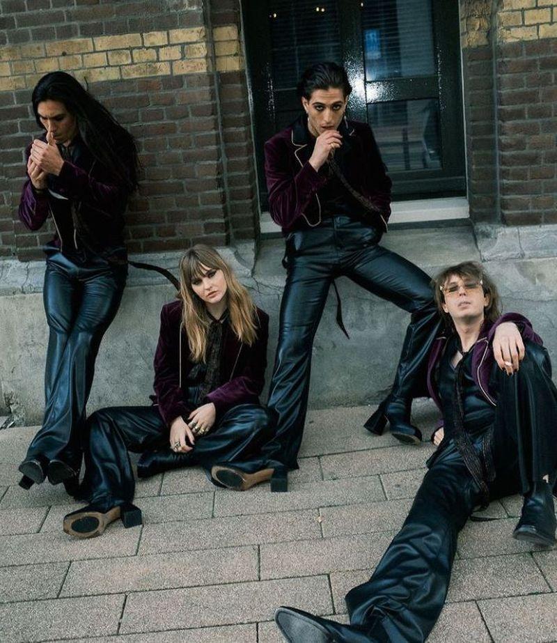 """Trupa """"Maneskin"""", câștigătoarea Eurovision 2021, lucrează la un nou album"""