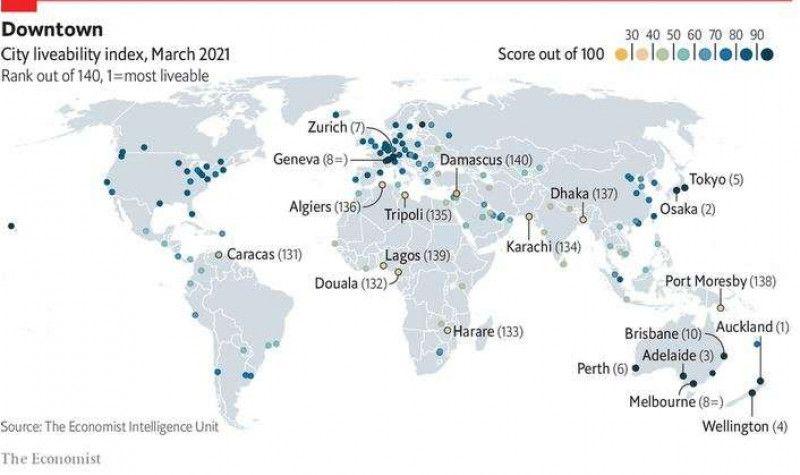 Pandemia a schimbat clasamentul! Topul orașelor unde este cel mai plăcut să trăiești