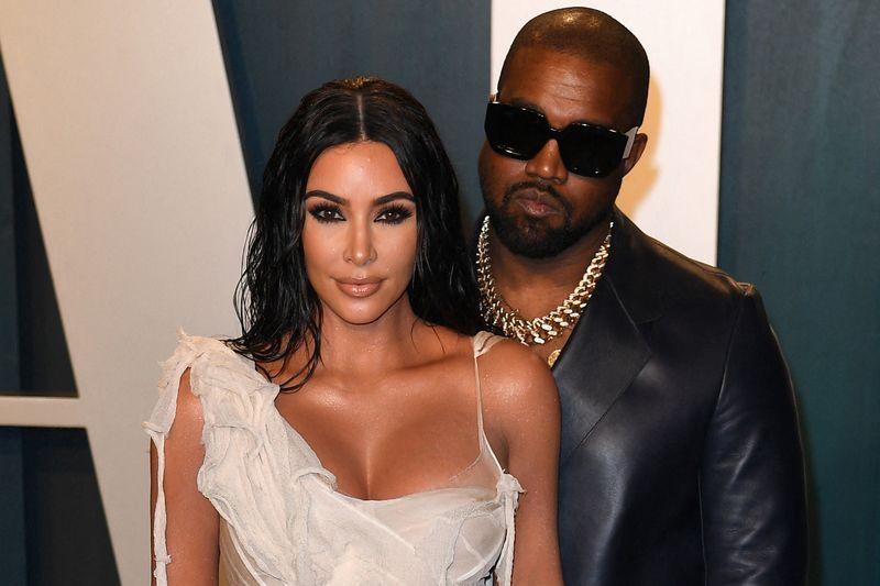 Kanye West și Kim Kardashion