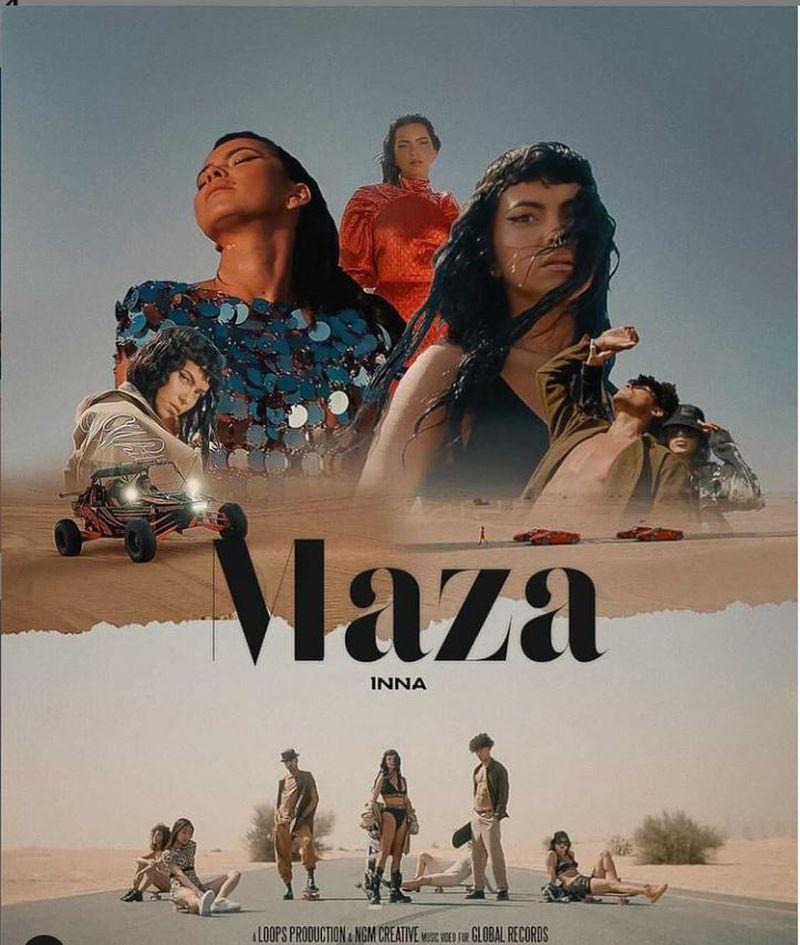 """Inna a lansat videoclipul piesei """"Maza"""""""