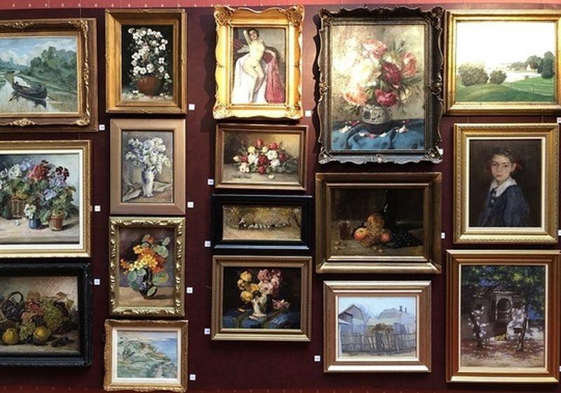 400 de tablouri semnate de maeştri români interbelici,  licitate pornind de la 100 de euro