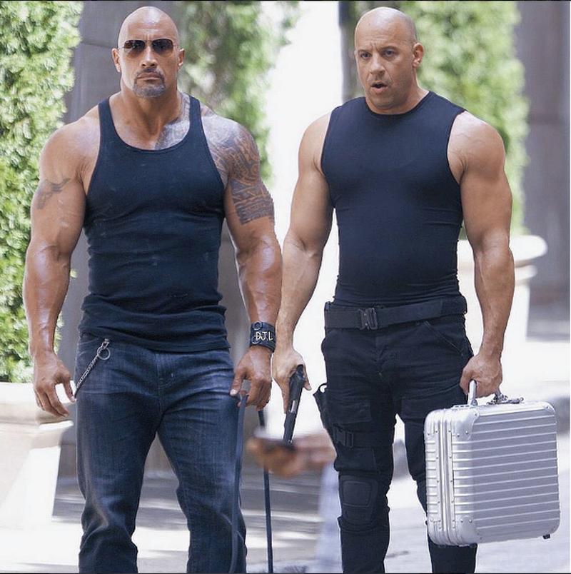 Scandal la Hollywood. The Rock i-a transmis lui Vin Diesel că ar avea nevoie de niște lecții de actorie