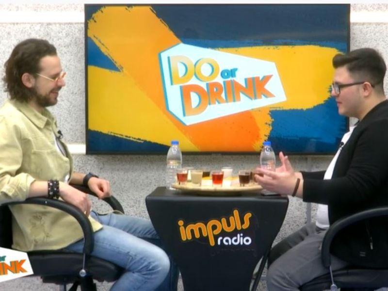 Bogdan Medvedi a răspuns provocării Do Or Drink a lui Mihai Hînda. Cum s-a descurcat