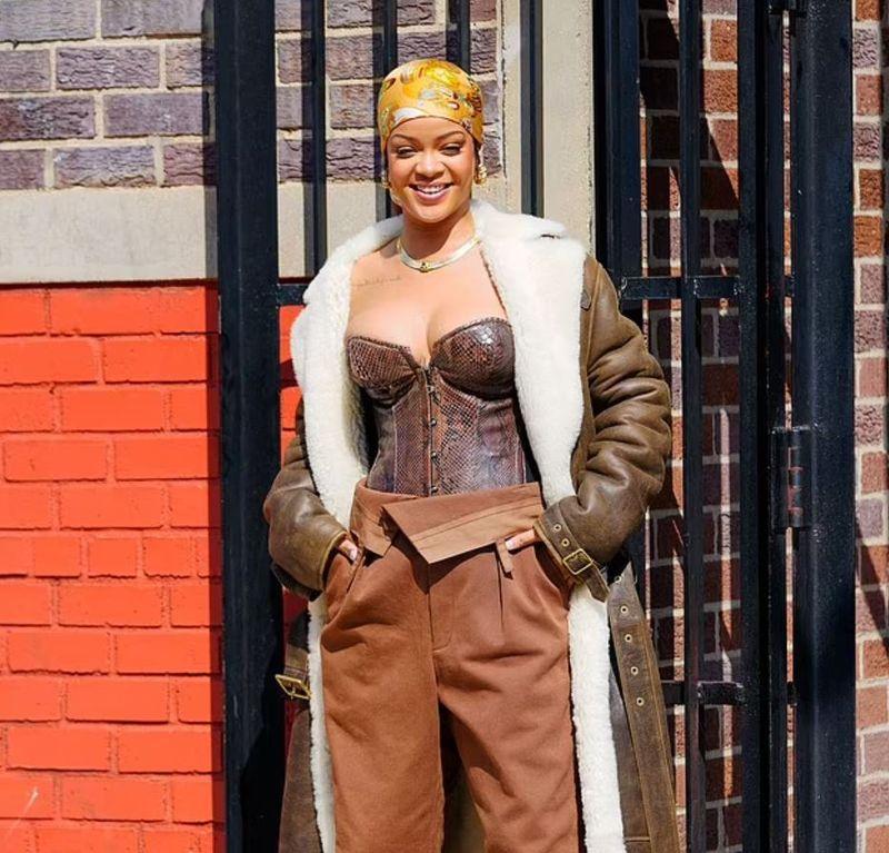 Rihanna, apariție hot alături de iubitul ei, A$AP Rocky, după filmarea unui videoclip