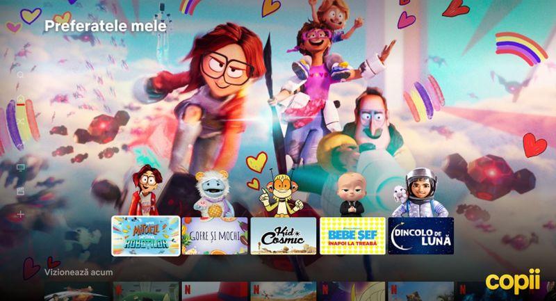 Netflix lansează două funcţionalităţi: e-mailurile de recapitulare şi rândurile Top 10 pentru copii