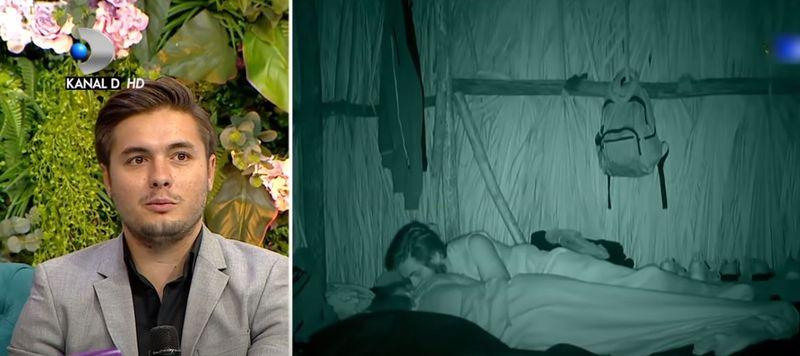 Maria și Albert de la Survivor România s-au contrazis în direct pe imaginile cu sărutul