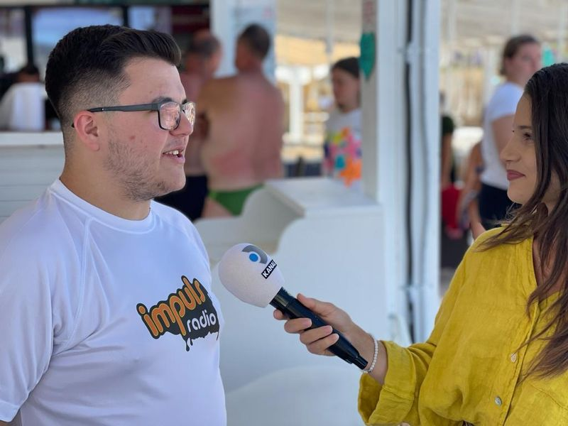 Fun in the Sun with Radio Impuls! Primele zile pe Plaja Reyna din Constanța