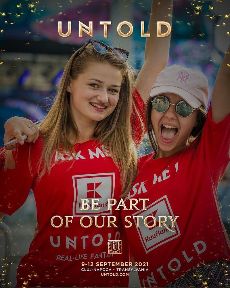 UNTOLD caută peste 2000 de voluntari! Ce trebuie să faci, dacă vrei să faci parte din echipă