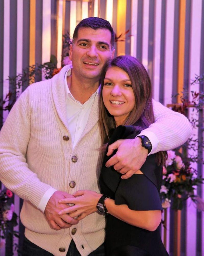 Simona Halep, primele declarații după petrecerea de logodnă