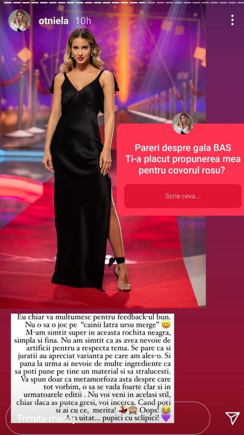 "Otniela Sandu, noi dezvăluiri despre competiția ""Bravo, ai stil! Celebrities"