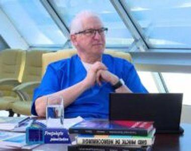 """Prof. Vlad Ciurea: """"Tranziția spre bătrânețe nu trebuie să fie cu dureri și cu..."""