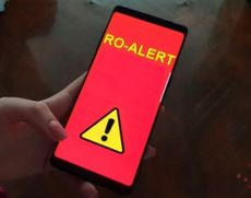 Atenţionare prin RO-Alert pentru şoferii de pe ruta Sighişoara-Mediaş în urma incendiului de la groapa de gunoi