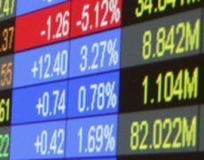 Scăderi pe linie la bursă: Indicele principal BET a scăzut cu 0,3%, după maximul de luni
