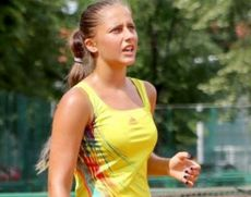 Romania's Prisacariu wins first ITF women's singles title in her career